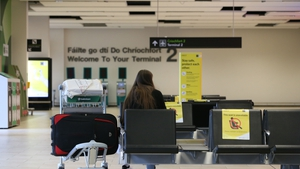 A quiet Dublin airport during Covid travel restrictions - (Pic: RollingNews.ie)