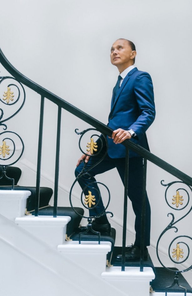 Professor Jimmy Choo OBE. See PA Feature TOPICAL Fashion Choo. Picture credit should read: PA Photo/Handout. WARNING: This picture must only be used to accompany PA Feature TOPICAL Fashion Choo.