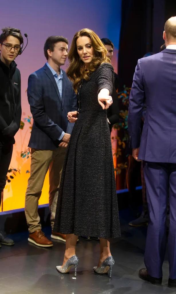 The Duchess of Cambridge wearing Jimmy Choo shoes (Ian Vogler/PA)