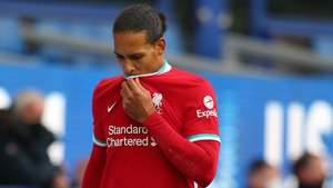 Virgil van Dijk has been out since since mid-October