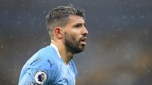 Aguero has missed vast swathes of City's season