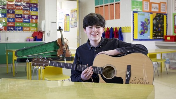 Mikey Maloney - Sharing his busking adventures and new music on Wednesday's Home School Hub