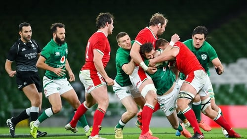 Ireland and Wales collided in Dublin in November