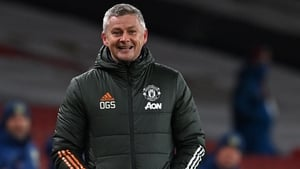 """Ole Gunnar Solskjaer: """"They drove it on, the players out there."""""""