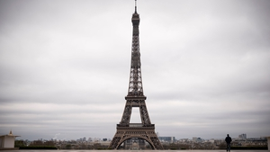 The monument's signature 'Eiffel Tower brown' will be replaced by a yellow-brown colour