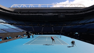 Preparations had been ongoing for the Australian Open