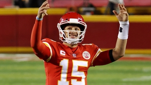 Patrick Mahomes and the Kansas City Chiefs are favourites to win Sunday's Super Bowl in Tampa
