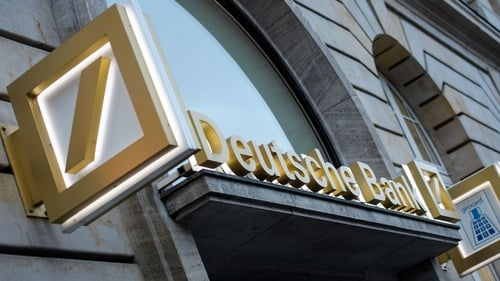 The German lender said its first-quarter net profit attributable to shareholders was €908m, which compares with a year earlier loss of €43m
