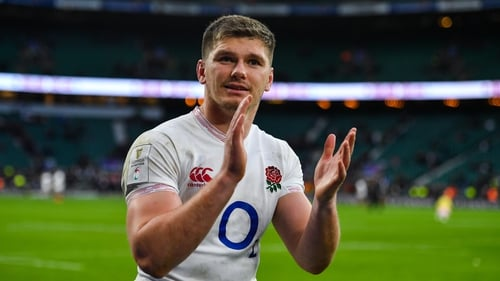 Owen Farrell is back in the England team