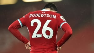 Andy Robertson and Liverpool slumped to another defeat
