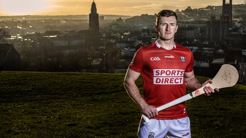 Patrick Horgan pictured at the announcement of Sport Direct's sponsorship of Cork