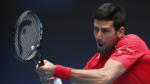 Djokovic is aiming for title number nine