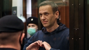 Alexei Navalny was arrested and jailed after returning to Russia last month