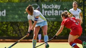 UCD and Monkstown in a league match at Belfield