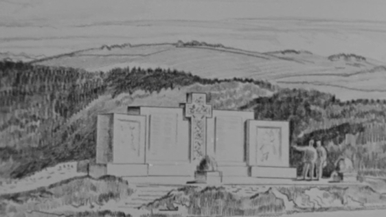 Kilmichael Ambush memorial design, 1966.