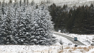 Snow is affecting road conditions in some areas (File pic: RollingNews.ie)