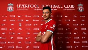 Ozan Kabak was unveiled on Tuesday