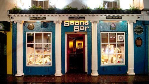 The action was taken by the owners of four pubs, including Sean's Bar in Athlone (Pic: RollingNews.ie)