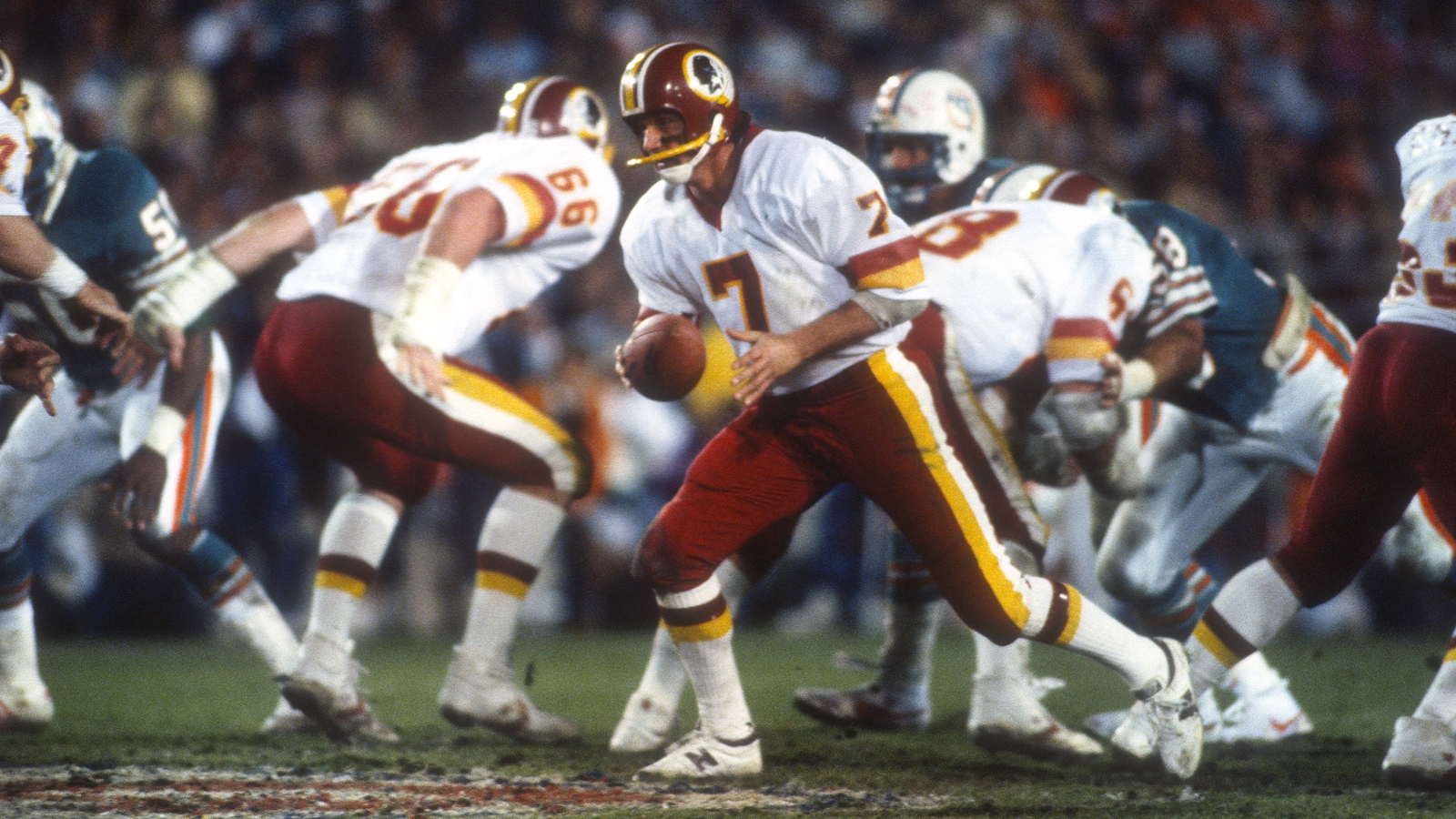 Image - Channel 4's coverage of the NFL started in 1982, which culminated in a Washington win over Miami at the Super Bowl