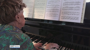 Colette Maze began playing the piano more than 100 years ago