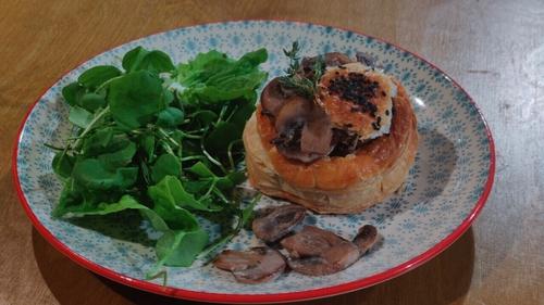 Lily's mushroomand thyme vol-au-vents