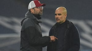 Jurgen Klopp has already conceded the league title to Guardiola's side