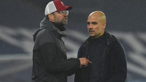 Jurgen Klopp has already conceded the league title to Guardiola's side