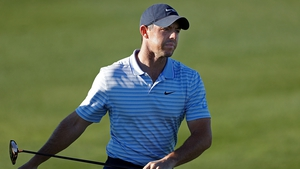 Rory McIlroy is seven shots off the lead