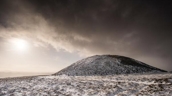 Queen Maeve's tomb at Knocknarae (Pic:Ken Willliams)