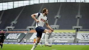 Harry Kane opened the scoring for Spurs