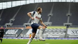 Harry Kane opened the scoring for Spurs