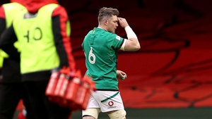 O'Mahony was sent off in the 14th minute