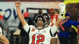 Tom Brady celebrates an unprecedented seventh Super Bowl win