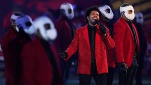 The singer triumphed the Super Bowl half-time show.