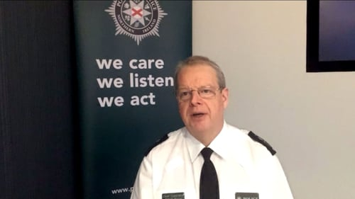 Simon Byrne expressed concern police were being used as a shock absorber in intensifying political clashes