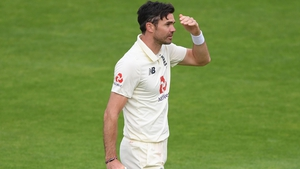 James Anderson starred for the visitors (file photo)