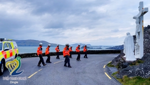 Members of the Dingle Coast Guard performed their version of the dance challenge