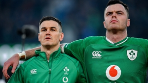 Johnny Sexton and James Ryan were both injured against Wales