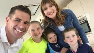 """Darren Frehill and family at home in Galway city: """"It's a complete mad house but we are pulling through."""""""
