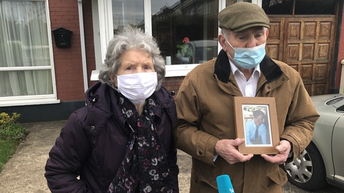 Mary and Denis Walsh have spent 25 years search for their son