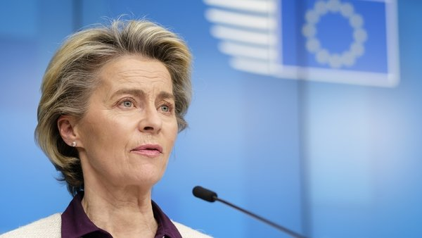 European Commission President Ursula von der Leyen said she will bring the plan to EU leaders for approval next week