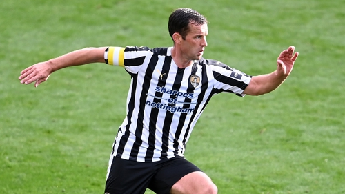 Michael Doyle came to Notts County's rescue