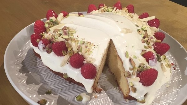 Eunice Power's lemon yogurt cake.