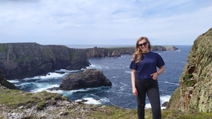 """Caitlín Nic Aoidh on her first trip to Tory: """"My friends slagged me that I was Bord Fáilte Donegal."""""""