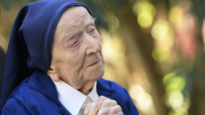 Sister Andre urged people to be brave and show compassion