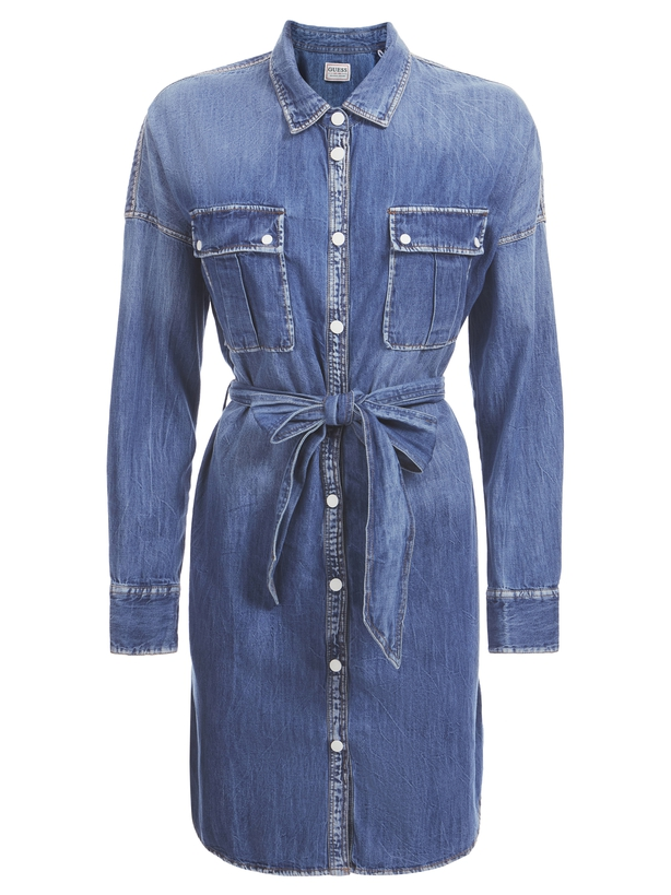 Guess Relaxed Fit Denim Dres