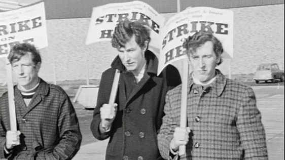 Gear Company Picket in Waterford (1971)