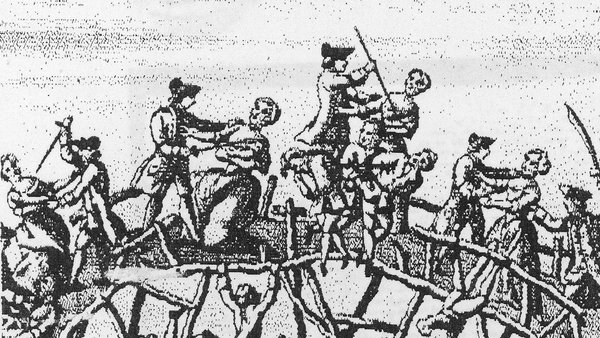 Depiction of the massacre of Ulster Protestants during the 1641 rebellion. Image: The LIFE Picture Collection via Getty Images