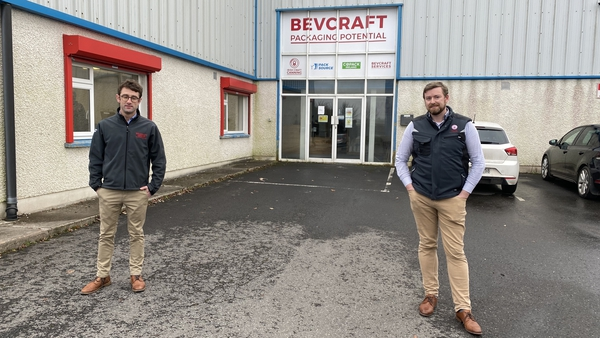 Bevcraft, a mobile canning company, was established by friends Ciarán Gorman and Darren Fenton