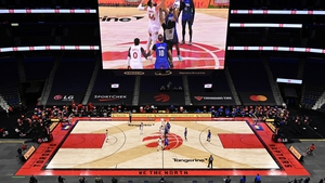 Raptors and the Orlando Magic tip off at Tampa's Amalie Arena on 31 January